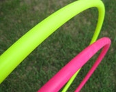 Two for Deal! Twin / Two / Double Colored Hula Hoops