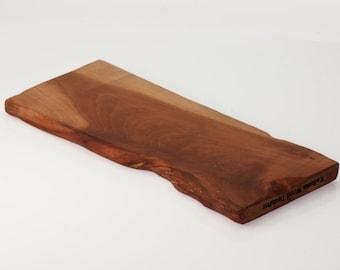 Rustic cherry cutting board / serving board