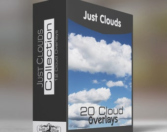 Just Clouds - Collection  - 20 - Cloud Overlays