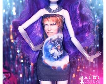 Monster Doll SIGNATURE SERIES Pop Culture Labyrinth David Bowie Mini Dress