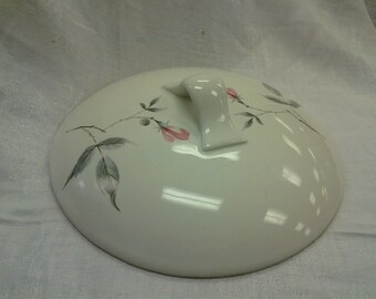 On Sale Ballerina Pottery Rose Replacement Lid for Casserole Dish
