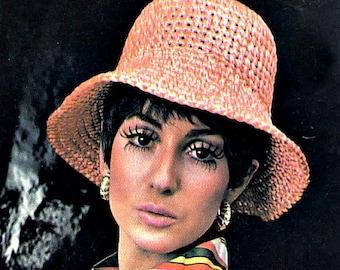 Soft-Brimmed Hat Crochet Pattern