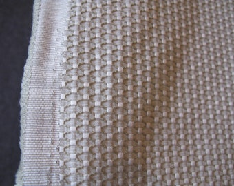 Sage Green Upholstery Fabric, Brocade Jacquard - Diamond Weave Pattern Fabric