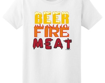 Beer Fire Meat Ladies T-Shirt 2000L - RS-238