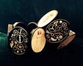 ONE OF A KIND!! Da Vinci steampunk Bracelet