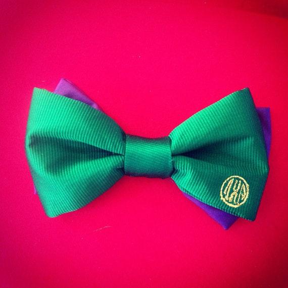 monogram bow tie custom bow tie bow tie gift for