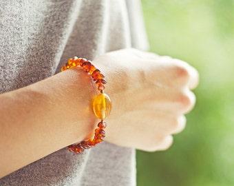 Genuine baltic amber bracelets, amber jewelry