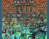 STS9 2013 New Year's Run Poster