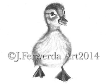 Pencil Drawing Print - When I Grow Up - Day 89