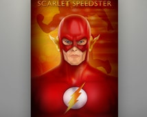 Scarlet speedster wedding