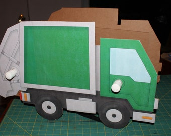 Wearable Garbage Truck (DIY)