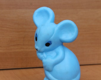 toy ... mouse ...  vintage Russian USSR ... Soviet Union ... Child ... Baby ... kids