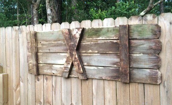 Wooden Gate Wall Decor : Old barn gate door wall decor rustic by sweetlysalvaged