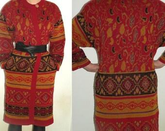 Vintage Long Sweater Coat