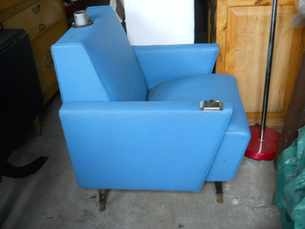 1950s beauty salon chair in teal blue by sammywalnutts on etsy for 1950 beauty salon