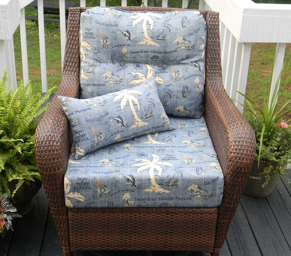 Patio Cushions Tropical Print picture on indoor outdoor deep seating chair with Patio Cushions Tropical Print, sofa f5c6d1476b13708f7392649052499999