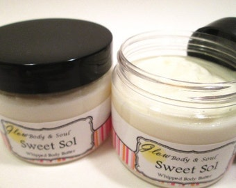 Sweet Sol Body Butter Paraben free