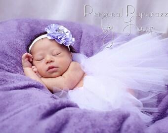 Newborn Photo Prop Tutu ** Tieable ** YOU CHOOSE COLOR * Custom Tutu