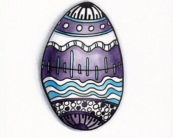 Egg Print Moon design