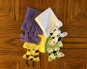 Zoo Hand Puppets (set of 4)