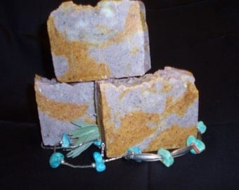 Lemon Grass and Lavender, Fresh Desert All Natural Soap, with Essential Oils