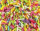 50g Assorted Coloured Sugar Strands
