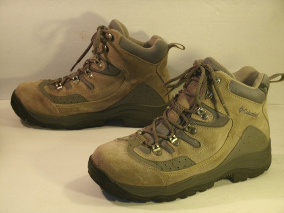Columbia Boots Columbia Hiking Boots Tan