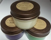 3.5 oz Handpoured Scented Soy Candle (Sampler Size)