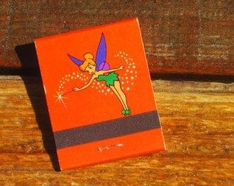 Vintage Rare 70s Unstruck Tinkerbell Sleeping Beauty's Castle Disneyland Matchbook LAST ONE