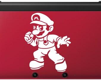 Mario Smash Bros. Decal