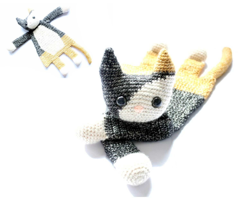 Calico Cat Ragdoll crochet amigurumi pattern PDF INSTANT