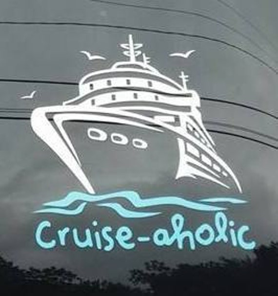 Cruise Aholic Vinyl Car Decal Sticker