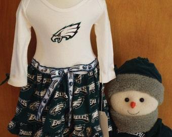 Philadelphia Eagles Bodysuit Dress