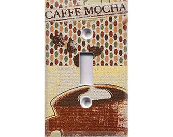 Caffe Mocha Light Switch Cover