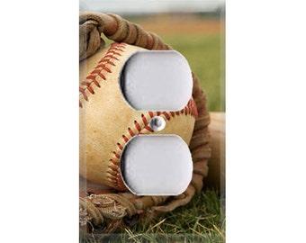 Baseball Outlet Cover