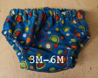 Basic Diaper Cover Pattern (3M-6M)