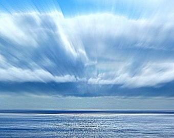 "Blue Horizan Fine Photographic Art 8""x10"" by DedaCreations"
