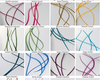 Real Feather Hair Extensions : Pick & Mix