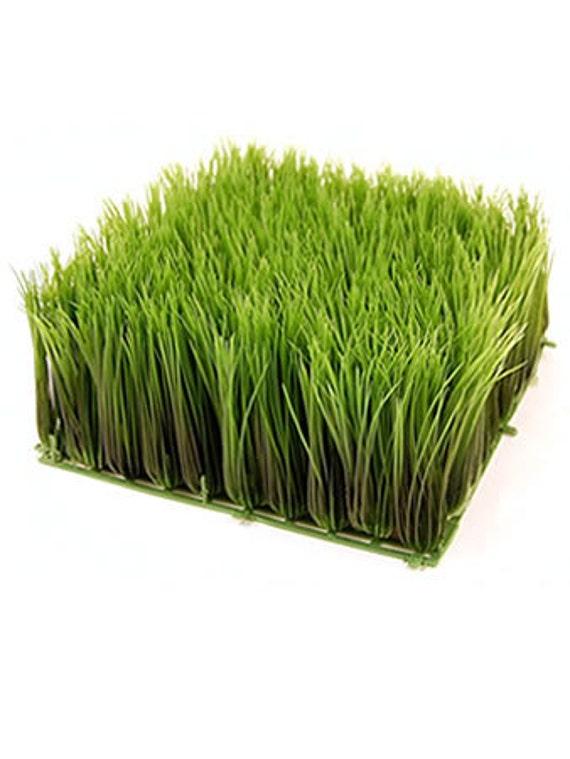 Artificial ornamental wheatgrass fake plastic wheat grass for Ornamental grass that looks like wheat