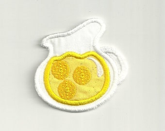 Small Pitcher of Lemonade Patch! Custom Made!
