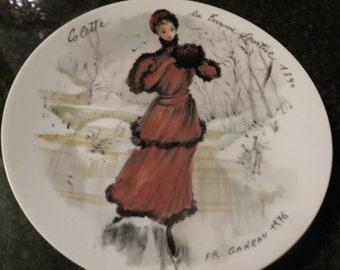 D'Arceau Limoges Les Femmes Du Siecle Colette la femme Sportive 1890