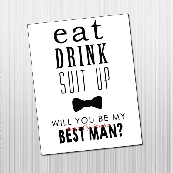 Satisfactory image for will you be my groomsman printable