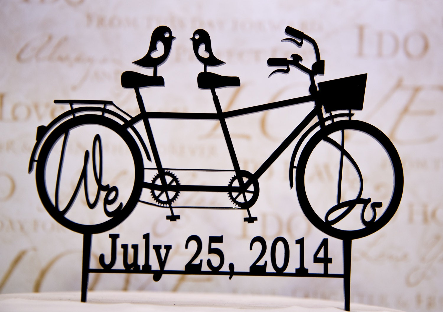 bike wedding cake topper bicycle for two wedding cake topper with we do your wedding 11762