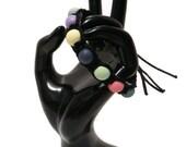 Love Lust Faith Nylon Beaded Bracelet