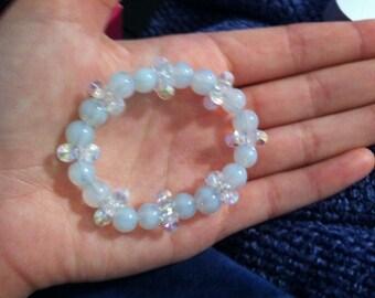 Wintery Beaded Bracelet