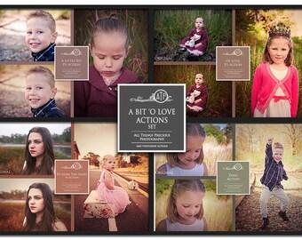 Fine Art Digital A Bit 'O Love Photoshop Actions Set