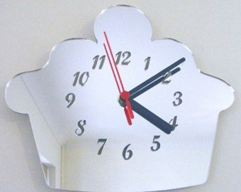 Cupcake Clock Mirror - 2 Sizes Available