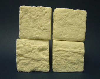 all natural handmade pure olive oil soap unscented 2 lbs