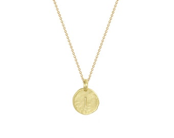 """Initial """"I"""" Necklace"""