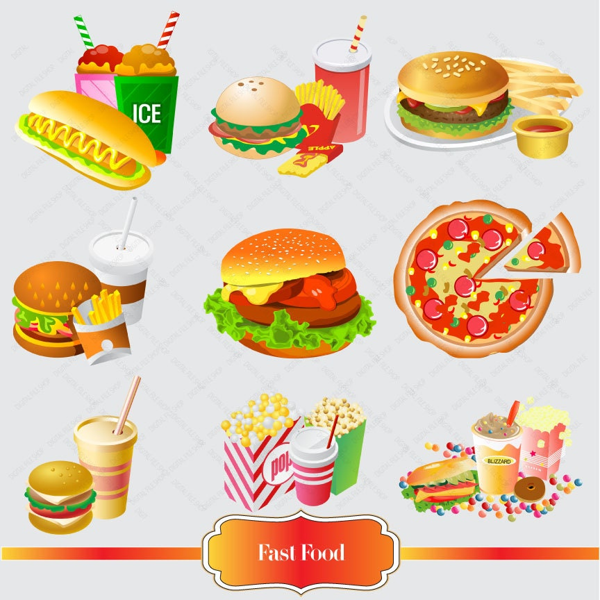 clipart fast food free - photo #44